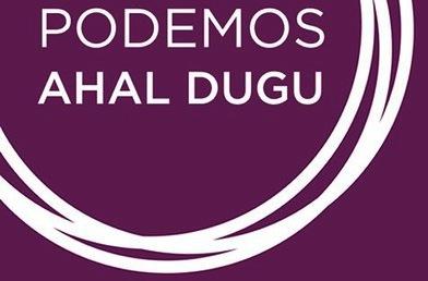 Podemos Ahal Dugu-ren eratzea