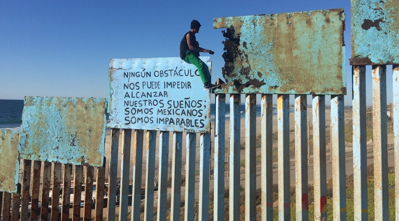 BERRIA migratzaileen karabanan, Mexikon