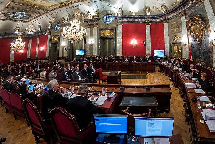 Kataluniako prozesu indenpendentistaren kontrako epaiketa