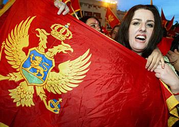 Independentziari buruzko erreferenduma Montenegron