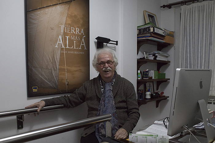 Joan Mari Irigoien. Fotografía de Juan Carlos Ruiz (Foku) para Berria
