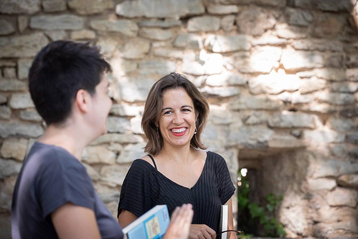 Berasategi Catalan eta Agirre, elkarrizketan