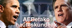 2012ko AEBetako hauteskundeak
