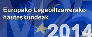 Europako Legebiltzarrerako  hauteskundeak