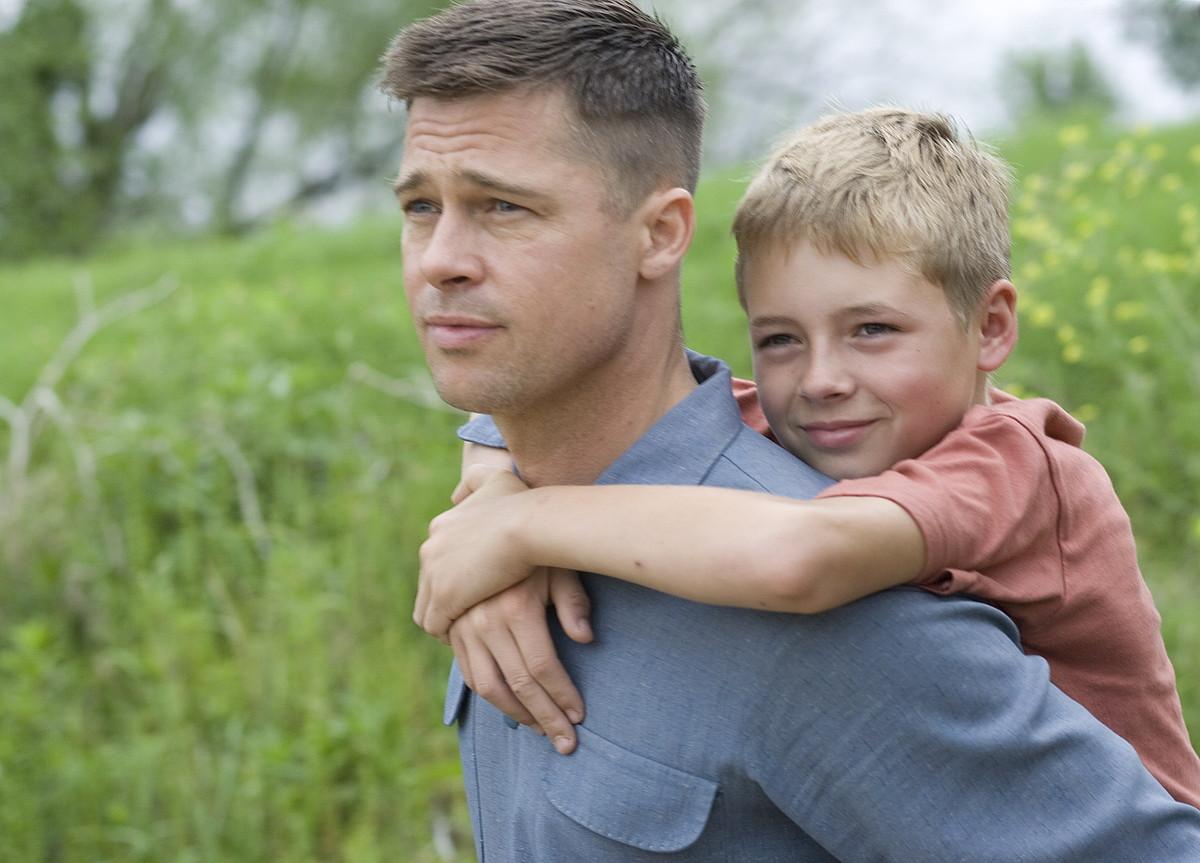 Brad Pitt, <em>TheTree of Life</em>  Terrence Malicken filmeko irudi batean. ©Z / BERRIA