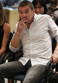 Arnaldo Otegi, atzo, Espainiako Auzitegi Nazionalean. / ARGAZKI PRESS