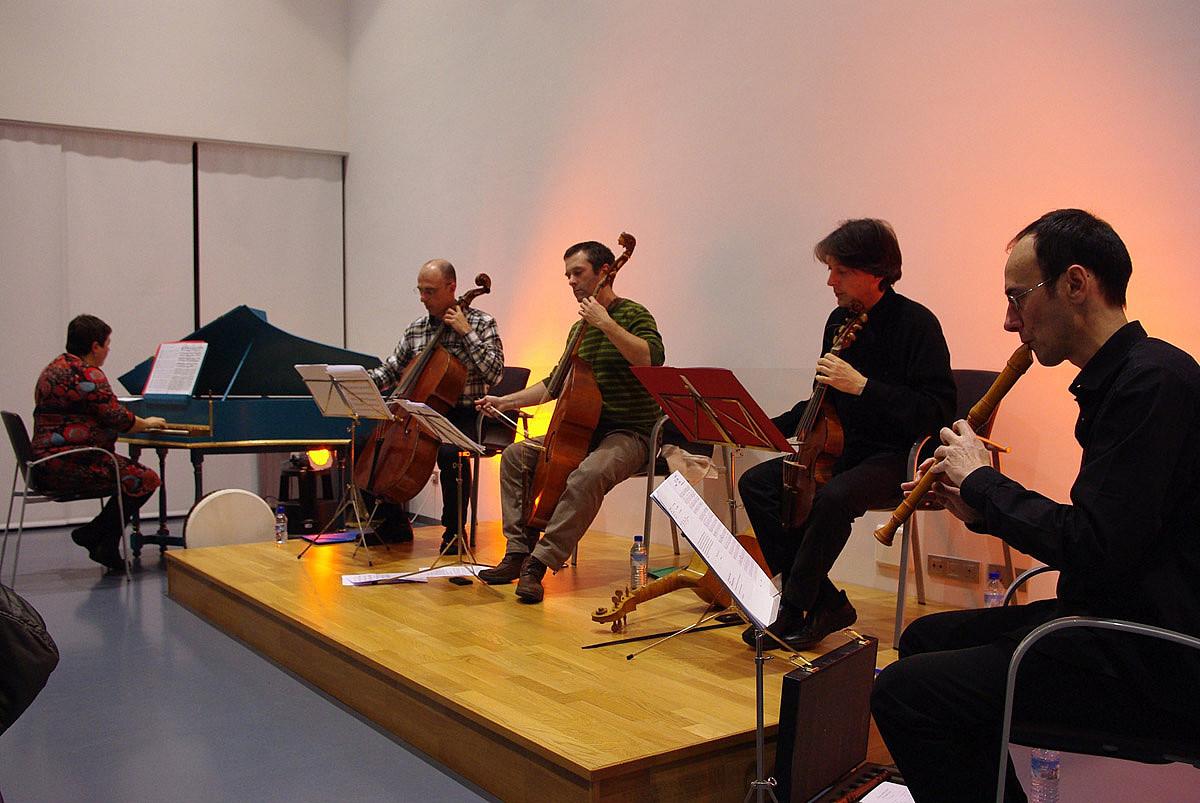 Danserie Ensemblek <em>Nafarroako erresuma XVI. mendean, musika eta literatura</em> eskainiko du. / DANSERIE ENSEMBLE