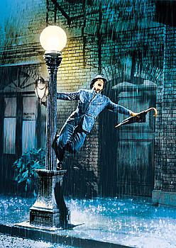 Gene Kelly, <em>Singin'in the Rain</em> filmeko irudirik ikonikoenean. &copy;Z / BERRIA