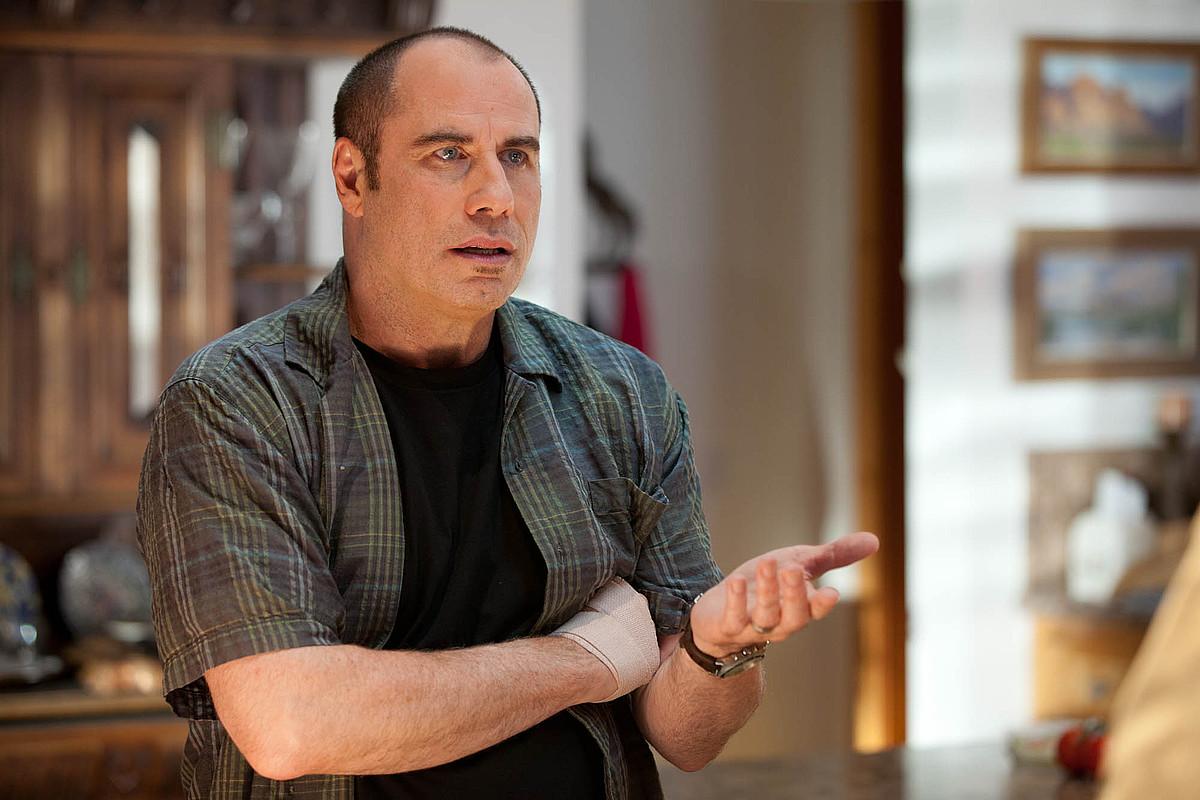 John Travolta, <em>Savages</em> filmeko une batean. Zinemaldian aurkeztuko dute. / FRANCOIS DUHAMEL