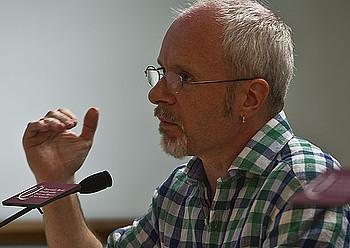 Ramon Lazkano, <em>Jalkin 2</em> obraren egilea. &copy;LANDER FDEZ. ARROIABE / ARGAZKI PRESS