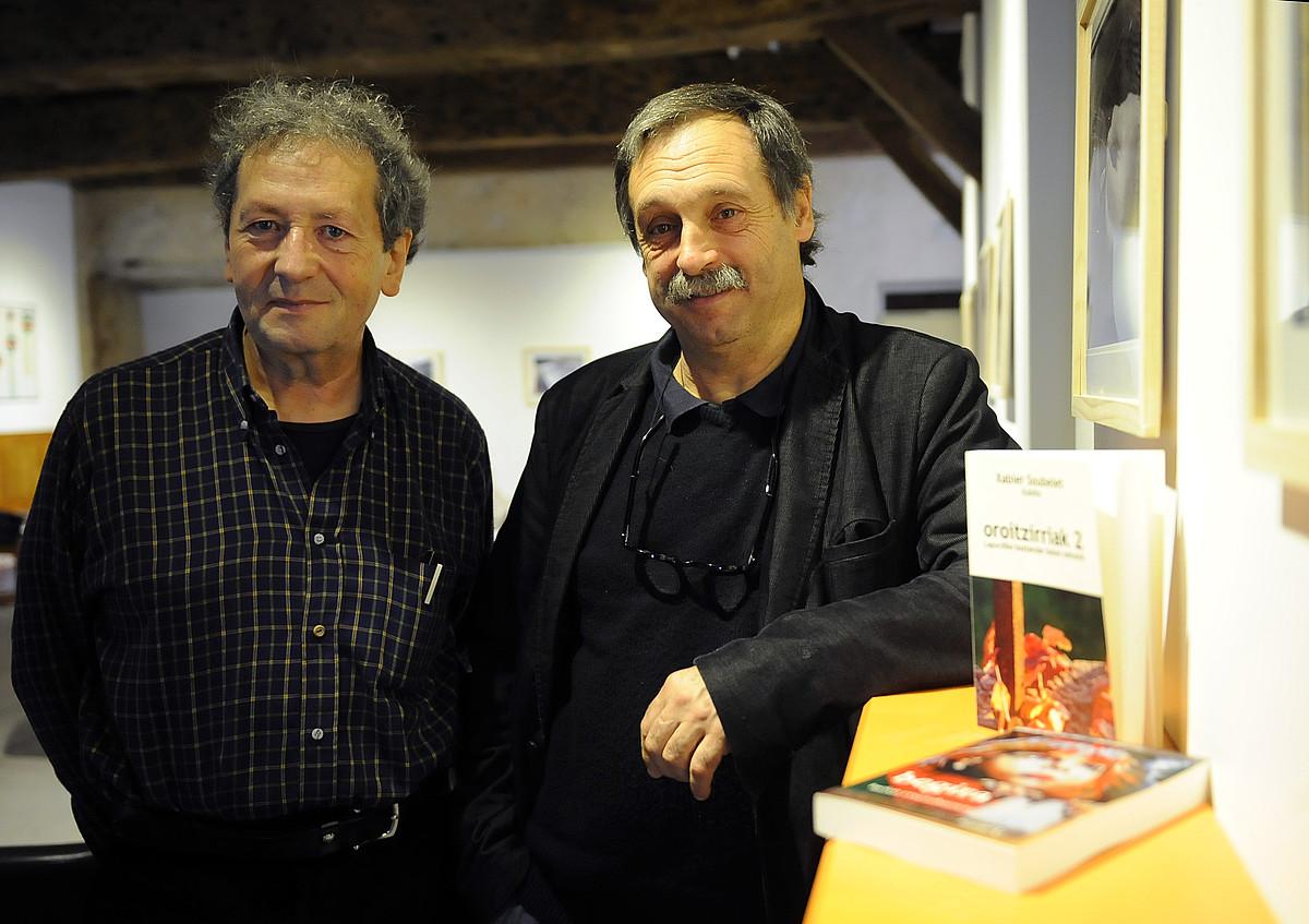 Lucien Etxezaharretaren bakarkako bigarrena da <em>Begira</em> eta Xabier Soubeleten bosgarrena <em>Oroitzirriak II</em>.