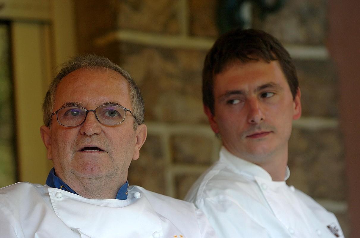 Juan Mari Arzak eta Andoni Luis Adurizen jatetxeak munduko onenen artean daude. ©JON URBE / ARGAZKI PRESS