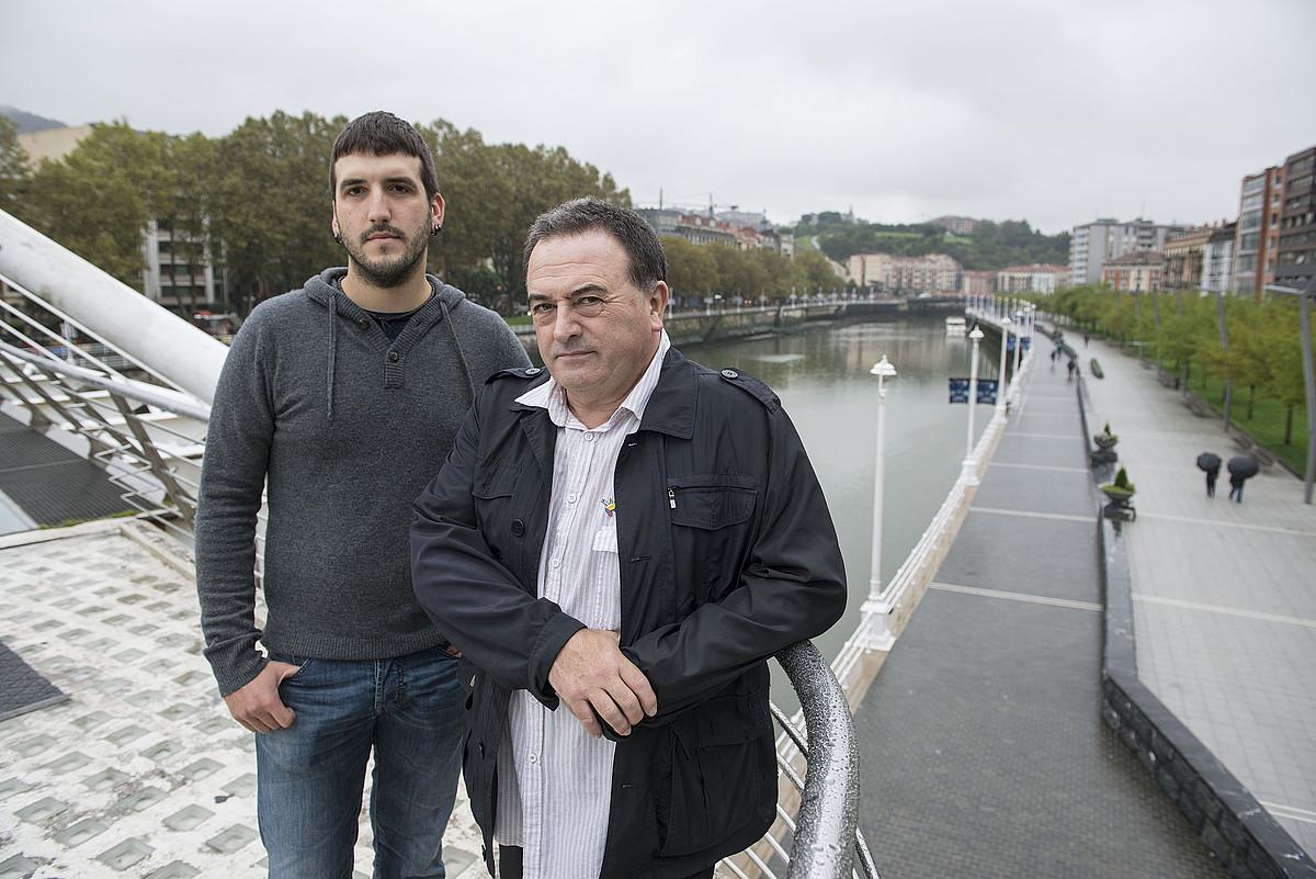 Espainiako Auzitegi Nazionalak urritik aurrera epaituko dituen Carlos Renedo eta Karmelo Landa. / JON HERNAEZ / ARP