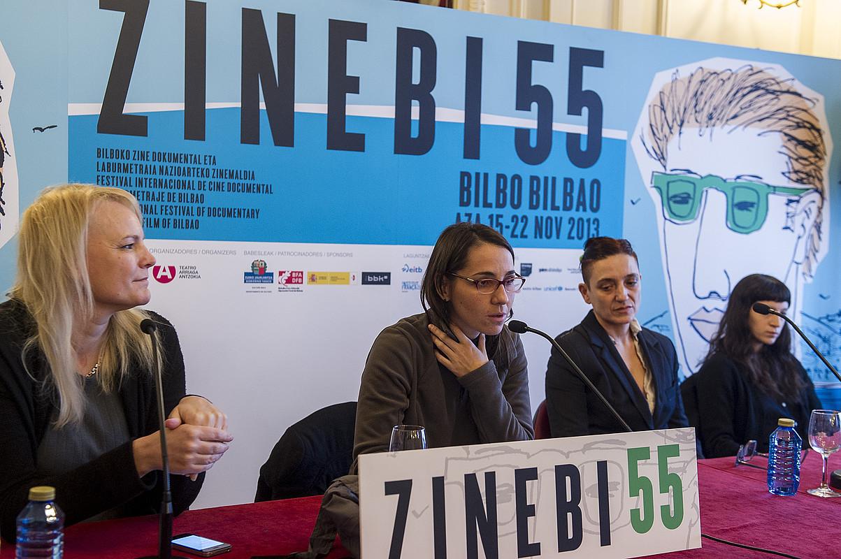 Zinebik �nortasun propioa� izan behar duela agertu zuen epaimahaiak. ©MONIKA DEL VALLE / ARGAZKI PRESS
