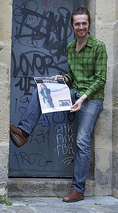 Hasier Oleagak bakarkako bigarren diskoa kaleratu du. ©JON URBE / ARGAZKI PRESS