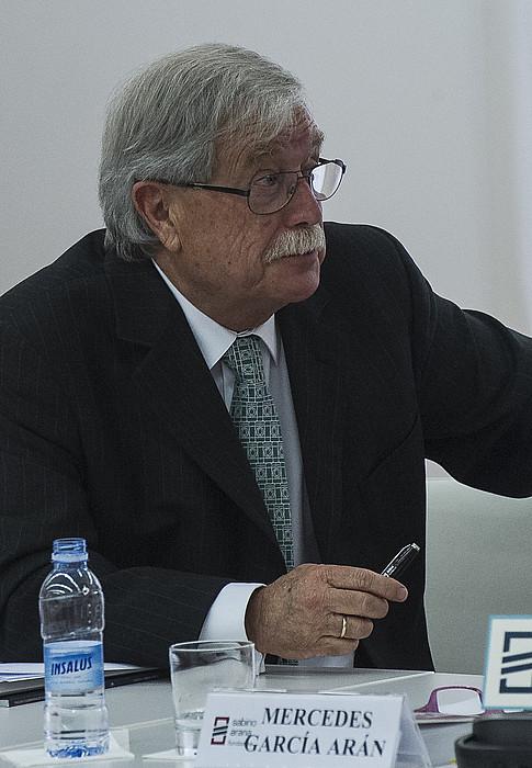 Joaquin Gimenez Goreneko epailea, ekainean, Bilbon.