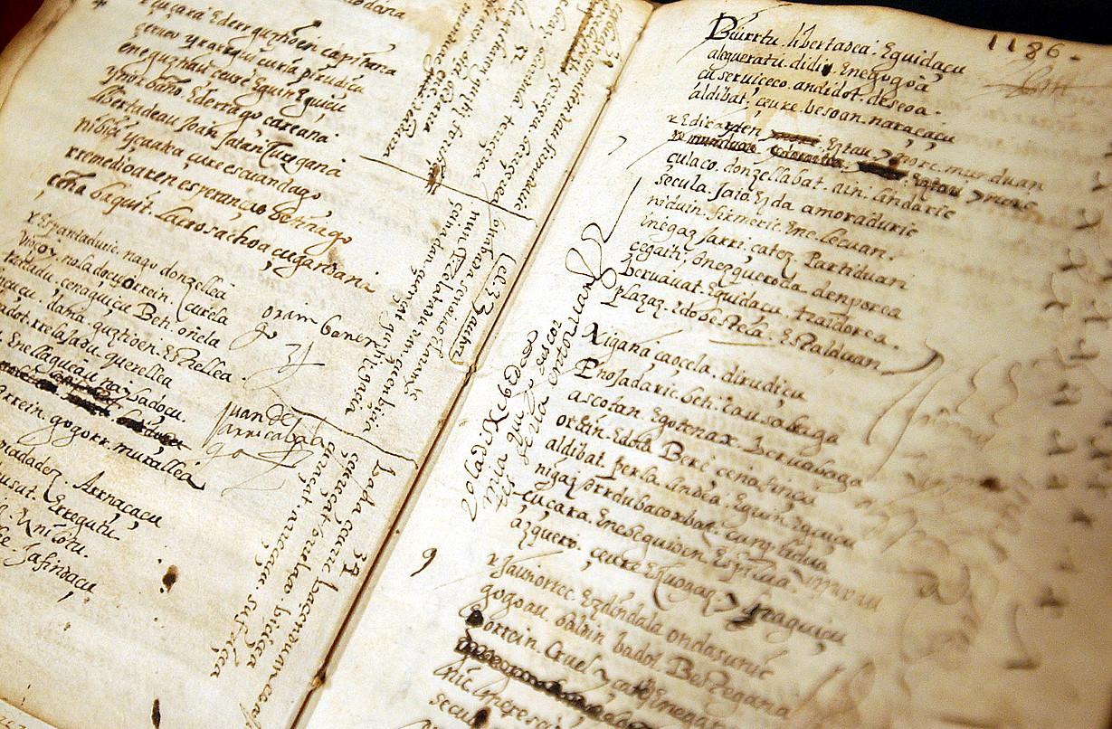 Joan Perez Lazarragaren liburua izan da azken urteetako ikerketa gai interesgarrienetako bat euskararen ikerlari eta filologoentzat.