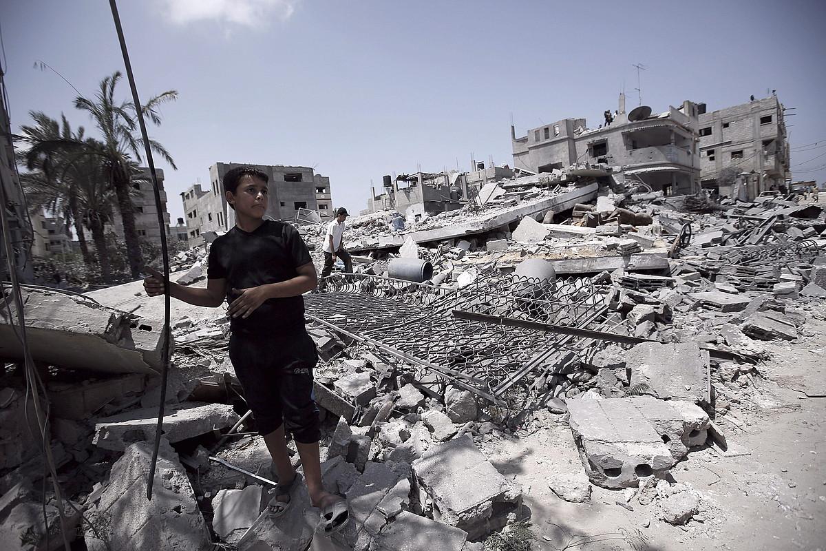Gaza berreraikitzeko, Egiptorekin, PANekin eta nazioartearekin negoziatzeko asmoa du Israelek.