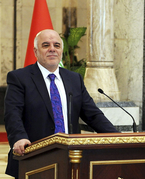 Haider al-Abadi.