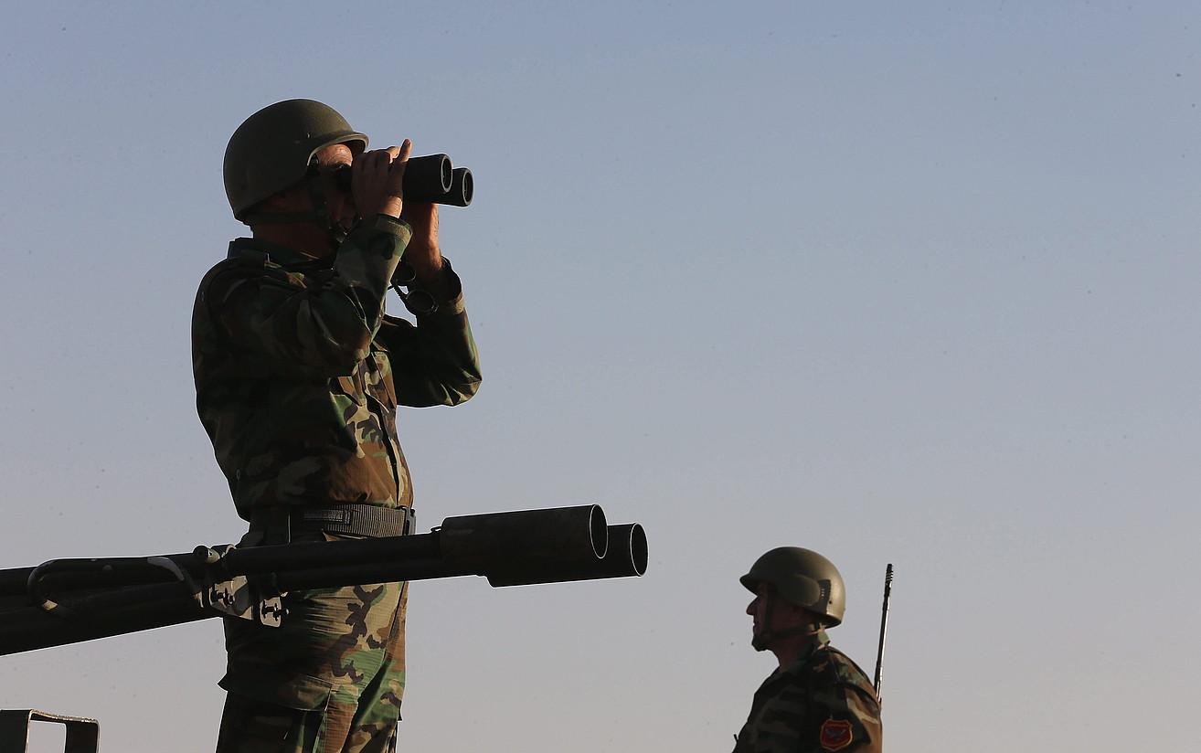 Peshmerga kurduak, atzo, Arbil hiritik 40 kilometrora.
