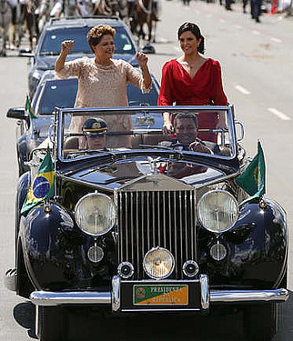 Dilma Rousseff, Paula alabarekin.