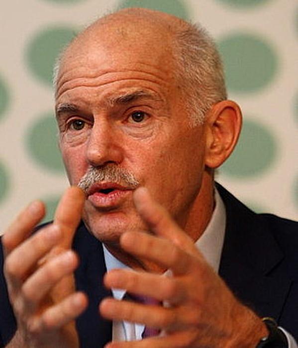 Georgios Papandreu.