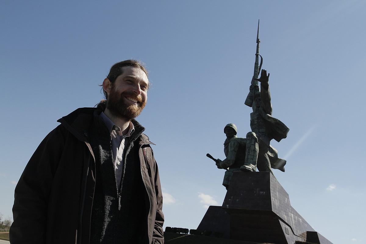 Kharkov hiritik ihes egin zuen Jurik Krimeara. Ekialdean dago, eta Kieven ondoren, Ukrainako hiri handiena da. ©MIKEL ARREGI