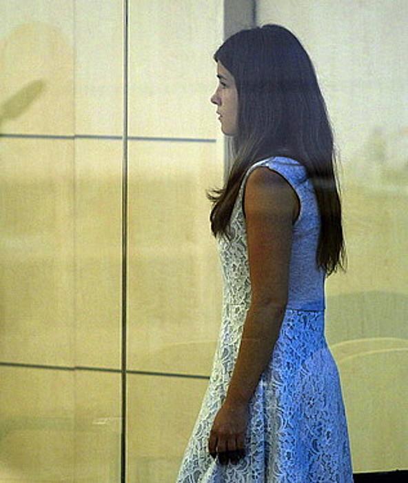 Oihana Mardaras, iazko irailean, Espainiako Auzitegi Nazionalean epaitu zutenean. ©VICTOR LERENA / EFE
