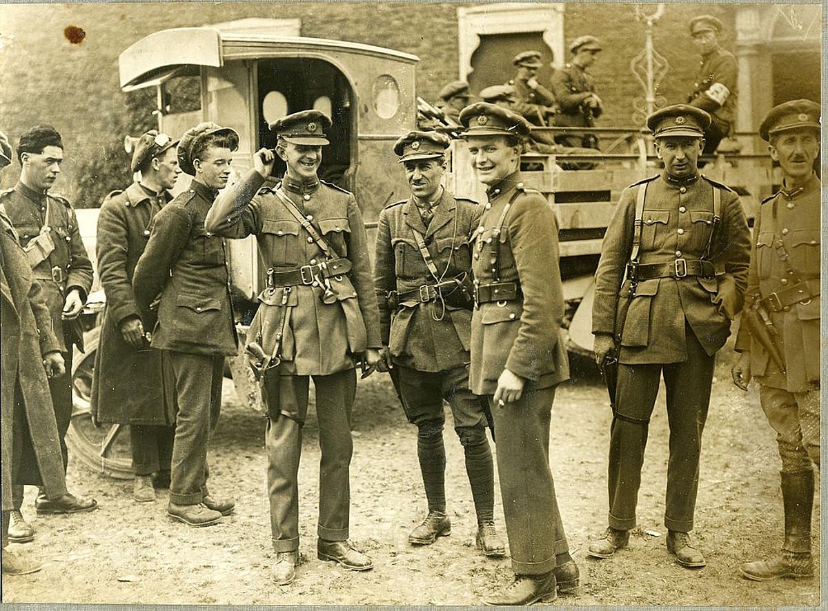 Armada Nazionaleko soldaduak, Irlandako gerra zibilean (1922-1923).
