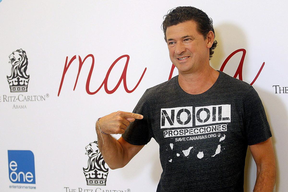 Julio Medem, <em>Ma ma</em> pelikularen sustapen argazki batean.