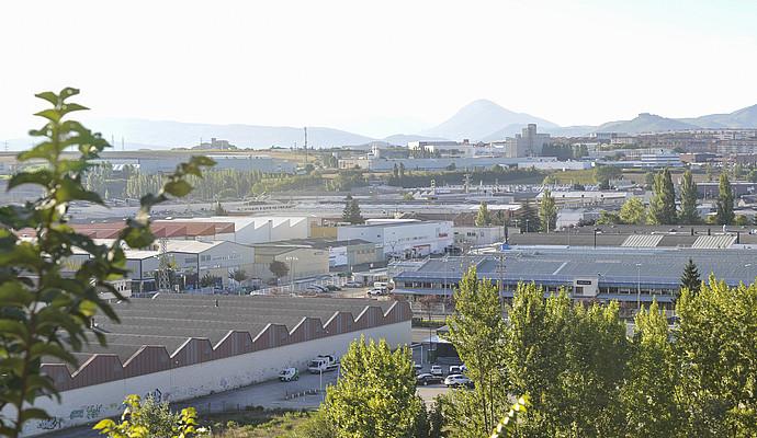 Landaben da Iruñeko eragile ekonomiko nagusietakoa; han dute lantegia enpresa askok. / IDOIA ZABALETA / ARGAZKI PRESS