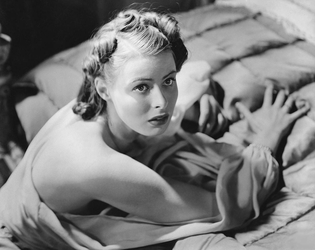 Ingrid Bergman aktorearen argazki ezagun bat.