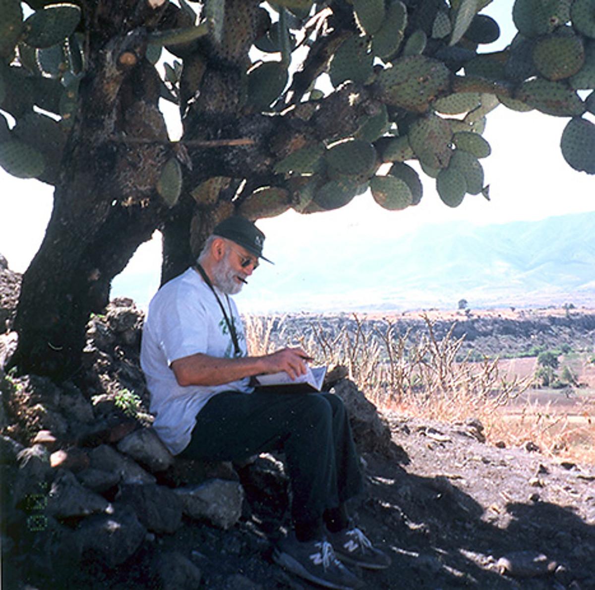 Oliver Sacks, Mexikoko Oaxaca estatuan. ©Z / BERRIA