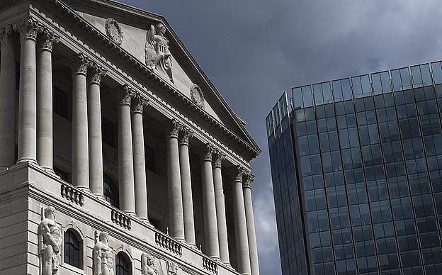 Ingalaterrako Bankuaren egoitzanagusia, Londresen.
