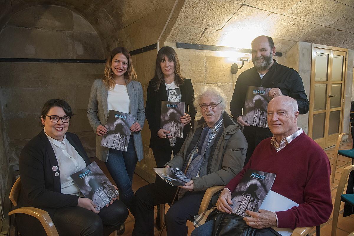 Euskal literaturak 2015-2016 ikasturtean utzitakoa jaso eta aztertu du <em>Hegats</em> aldizkariak. ©ANDONI CANELLADA / ARGAZKI PRESS
