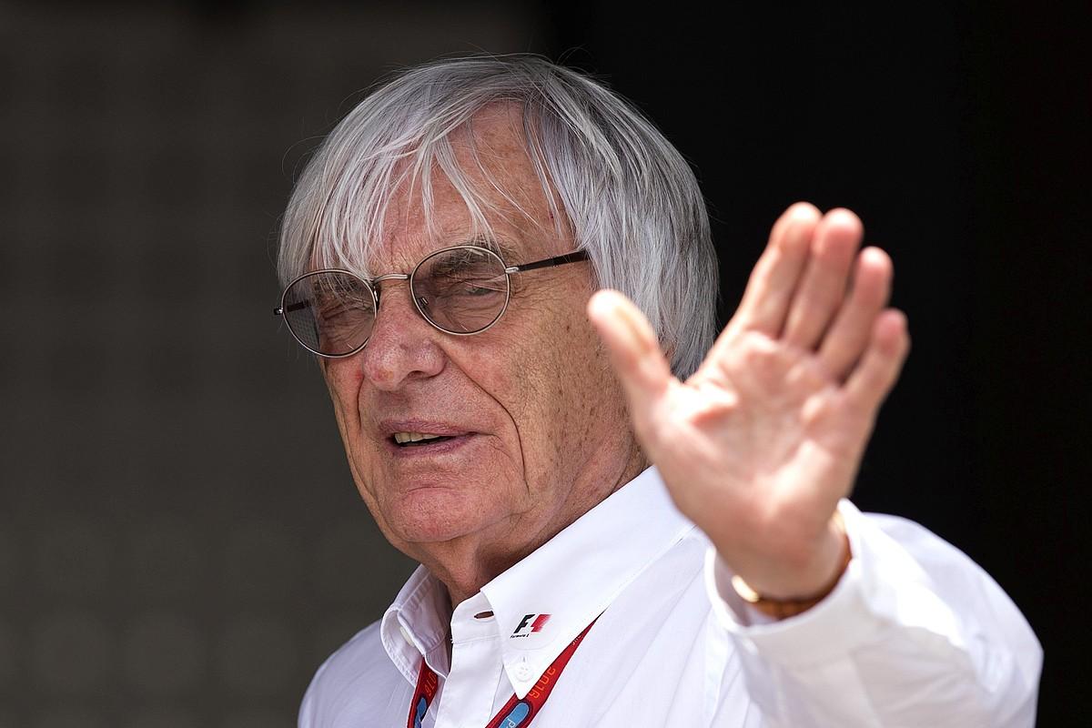 Bernie Ecclestone Munduko 1 Formulako Txapelketako nagusi ohia, artxiboko argazki batean. ©VALDRIN XHEMAJ / EFE