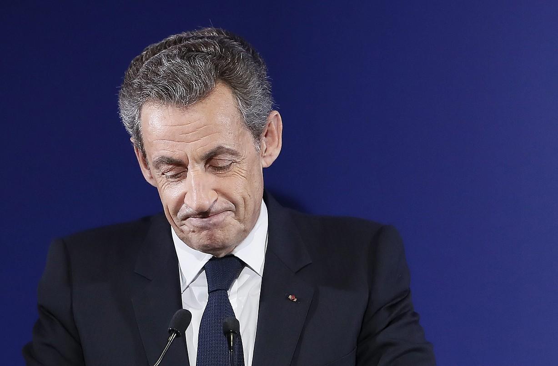 Nicolas Sarkozy Frantziako presidente ohia, iazko azaroaren 20ko irudi batean, Parisen. ©IAN LANGSDON / EFE