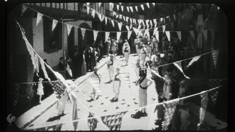 Rene Le Henaff zinemagileak <em>cinema en relief</em> teknika erabiliz sortu zuen <em>Euskadi</em> filmean ikusi daitekeen fotogrametariko bat.