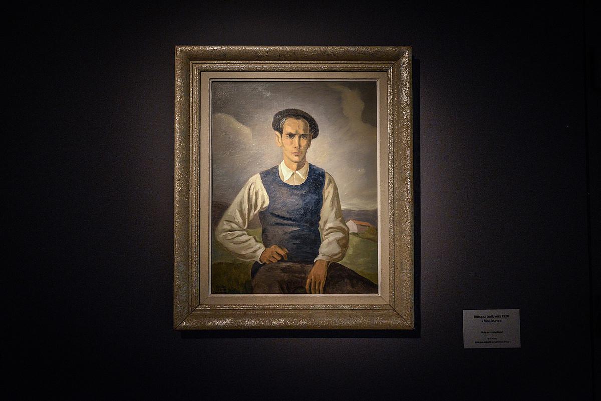 Ramiro Arrueren autorretratua, 1928an margotua; Donibane Lohizuneko Herriko Etxea du jabe. ©ISABELLE MIQUELESTORENA