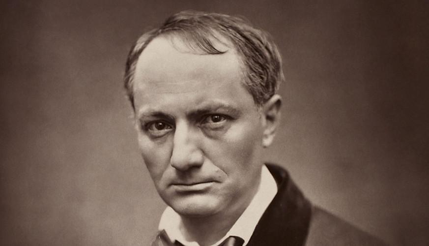 Charles Baudelaire, 1862 inguruko argazki batean. 1867an hil zen, sifilisaren eraginez. ©ETIENNE CARJAT