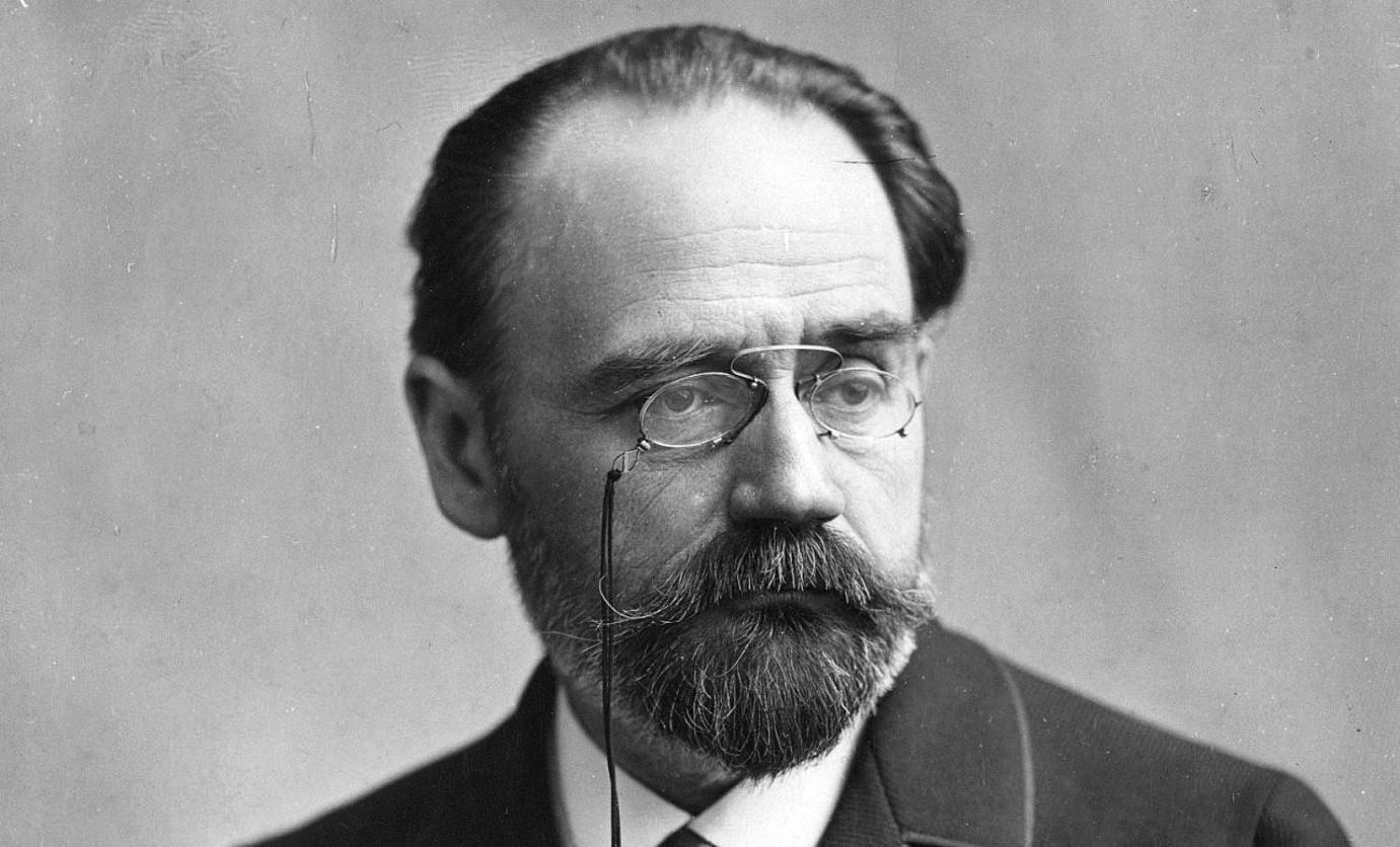 Emile Zola idazle frantziarra (1840-1902).