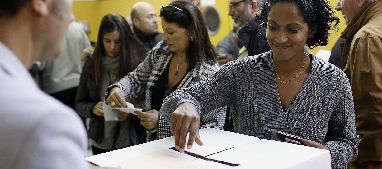 <b>A-9. </b>2014an saiatu zen Katalunia independentziari buruzko erreferenduma egiten. / ALEJANDRO GARC�A / EFE