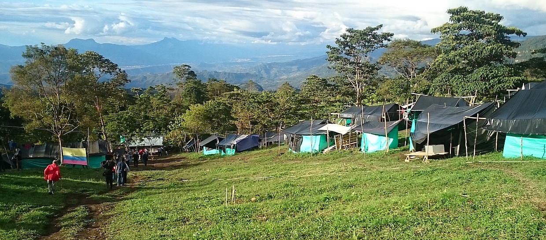 FARC-EPko Icononzo herria, Tolima departamenduan. ©ORSOLA CASAGRANDE