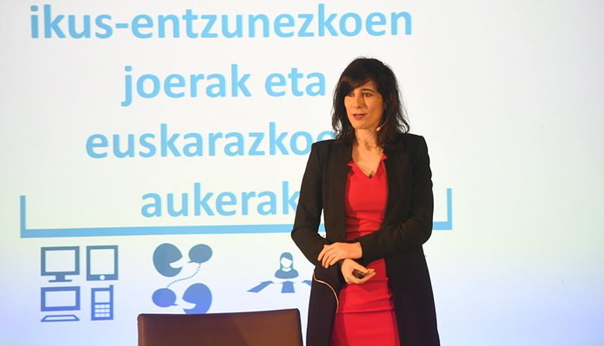 Garazi Goia Skyko estrategia zuzendaria, atzo, Hernanin.