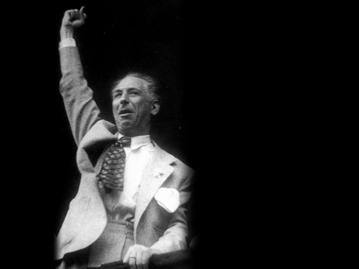 Companys presidentea frankistek hil zuten, 1940an. / BERRIA
