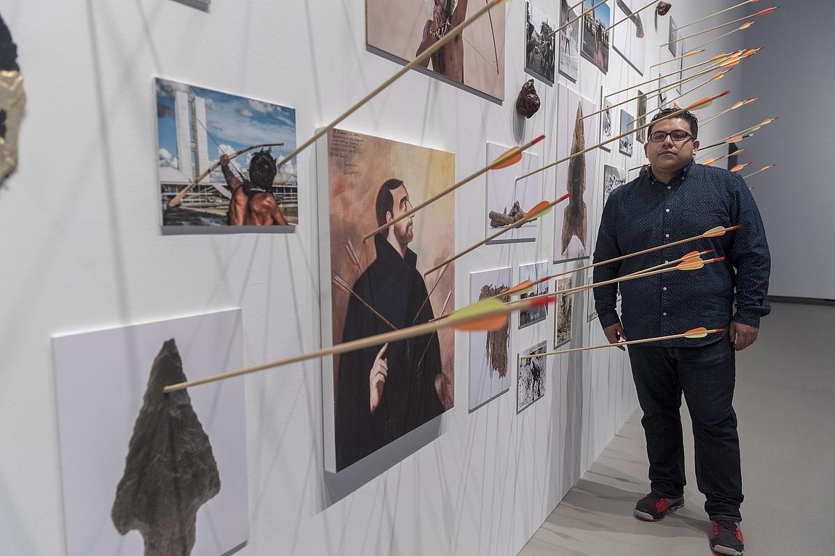 Artiumeko erakusketan ikus daitekeen lanetariko bat. ©JUANAN RUIZ / ARGAZKI PRESS
