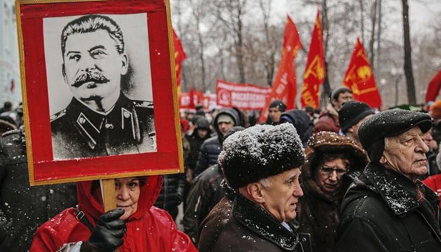 Josiv Stalin, Sobiet Batasunean urte gehien agindu zuen buruzagia.