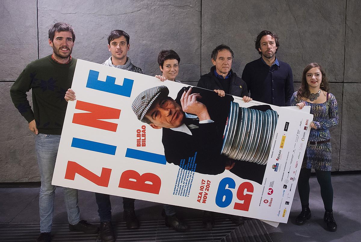 Zinebi jaialdian parte hartuko duten Euskal Herriko zinemagileak. ©LUIS JAUREGIALTZO / ARGAZKI PRESS