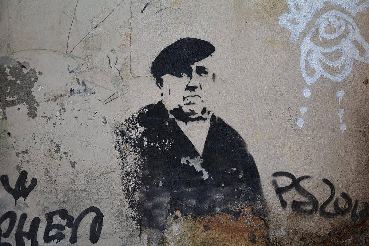 Murala Bilboko San Frantzisko auzoan. ©BERRIA