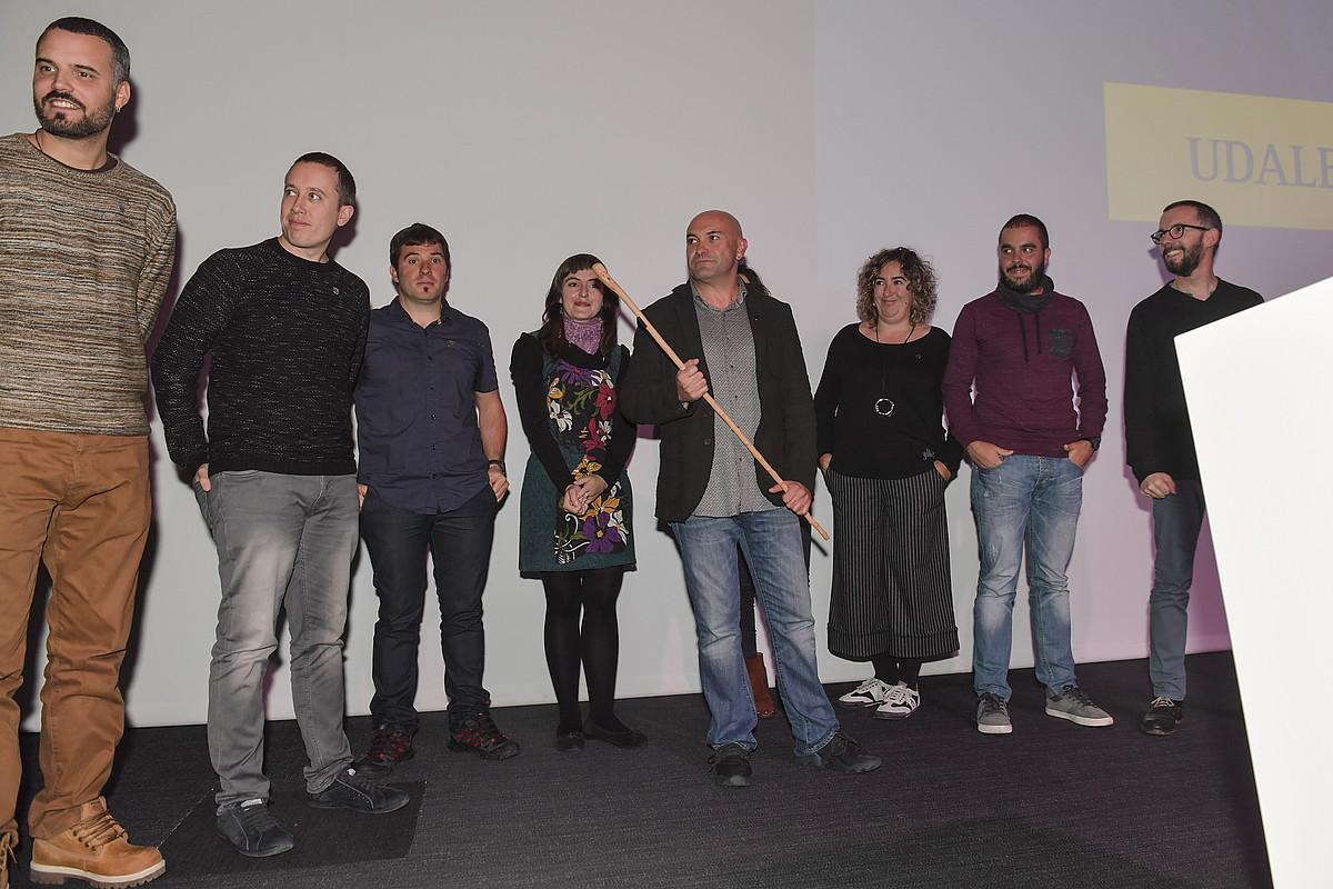 Zuzendaritzako kideak, atzo eginiko batzarrean. ©IDOIA ZABALETA / ARGAZKI PRESS